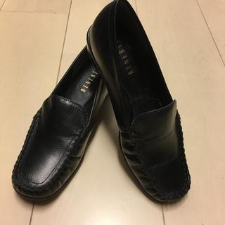 訳あり◇新品◇人気のBENEBIS ベネビス◇ブラック◇小さなサイズ(ローファー/革靴)