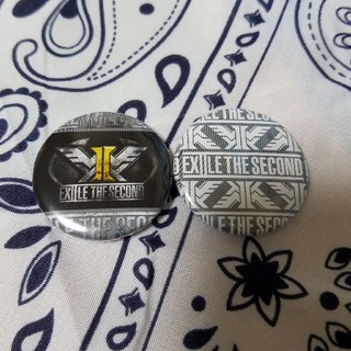 EXILE THE SECOND - SECOND 缶バッジ B
