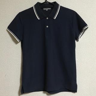 しまむら - しまむら  ポロシャツ  ネイビー  Lサイズ