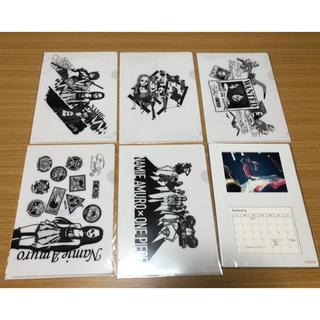 安室奈美恵 クリアファイル5種コンプリート+卓上カレンダー