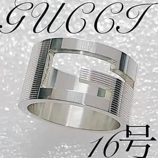 Gucci - 美品 GUCCI ワイドタイプ   16号 リング