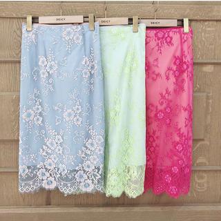 デイシー(deicy)の*tulle lace skirt* ★最終お値下げ★(ひざ丈スカート)