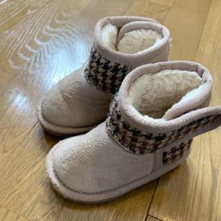 シマムラ(しまむら)のしまむら購入品★ハリスツイード ムートンブーツ 13.0cm(ブーツ)