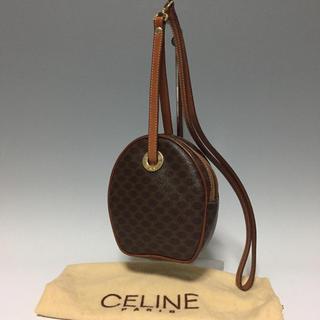 celine - CELINE レア ショルダーバッグ マカダム 肩がけ ヴィンテージ セリーヌ
