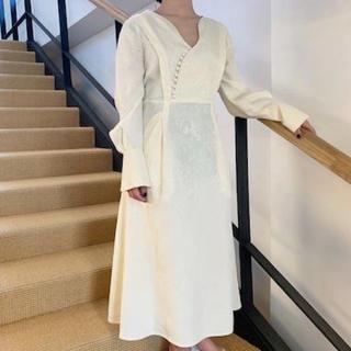 マメ(mame)のmame kurogouchi 2019SS ワンピース(ロングワンピース/マキシワンピース)