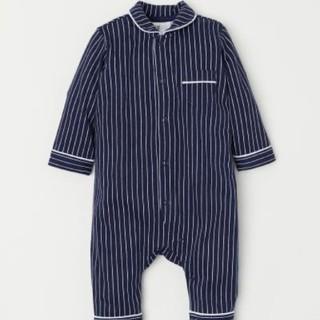 エイチアンドエム(H&M)の新品♥ H&M 長袖 カバーオール(ロンパース)