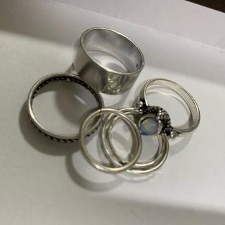 ジェイダ(GYDA)のリング6点セット(リング(指輪))