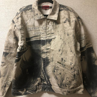 Supreme - Supreme 19aw is love denim work jacket M