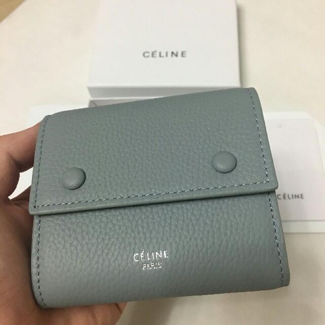 celine(セリーヌ)のCELINE コンパクト大人気財布   レディースのファッション小物(財布)の商品写真