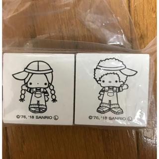 サンリオ - パティ&ジミー スタンプ ハンコ