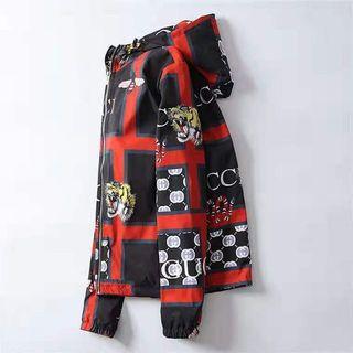 グッチ(Gucci)の人気のタイガーヘッドファッションメンズジャケット L(ブルゾン)