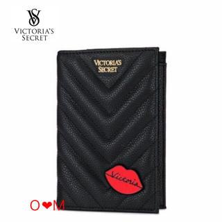 ヴィクトリアズシークレット(Victoria's Secret)のVICTORIA'S SECRET パスポートケース/ブラック リップ(その他)