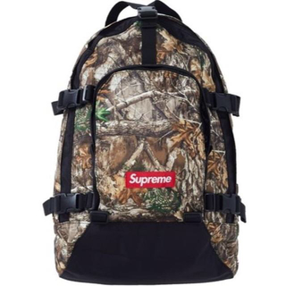 Supreme - Supreme Backpack 19aw カモ バックパック