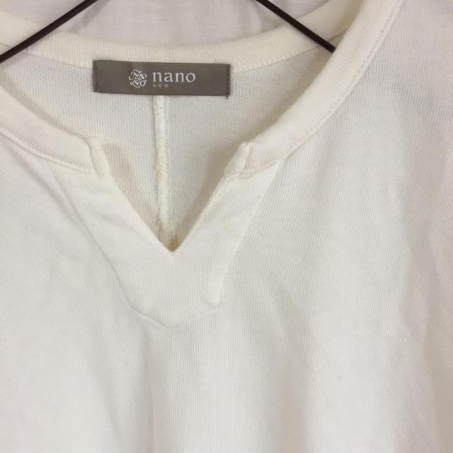 nano・universe(ナノユニバース)のnano universe T メンズのトップス(Tシャツ/カットソー(半袖/袖なし))の商品写真