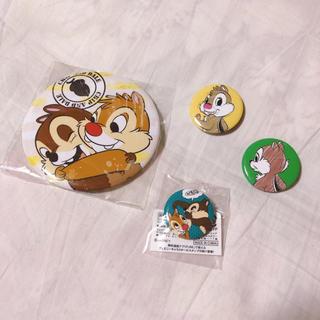 Disney - チップとデール 缶バッチ