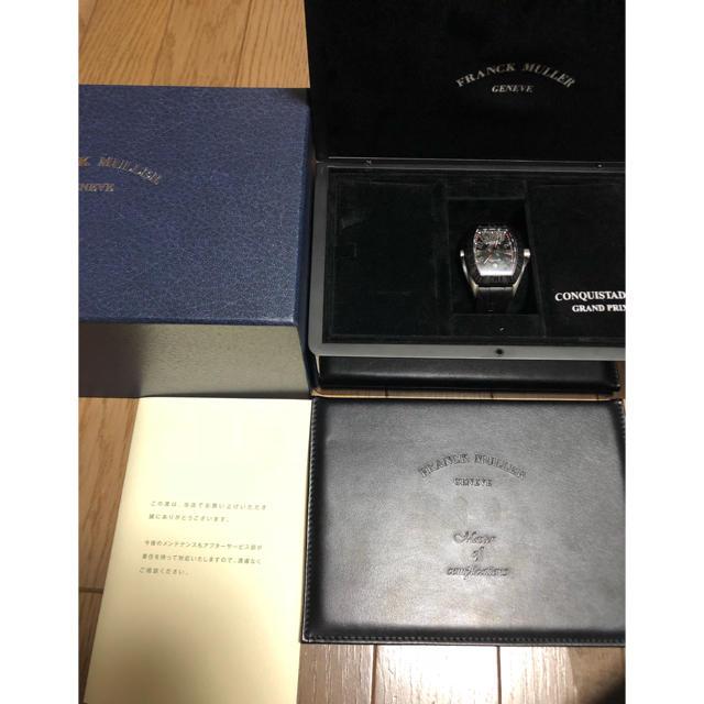 フランクミュラー  コンキスタドール グランプリ 8900 gp ヴァンガード の通販 by lax0124's shop|ラクマ