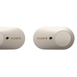 ソニー(SONY)のSony ワイヤレスイヤホン WF-1000XM3  プラチナシルバー(ヘッドフォン/イヤフォン)