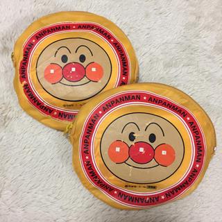 アンパンマン(アンパンマン)のアンパンマン エコバッグ 非売品 中古 2個セット(エコバッグ)