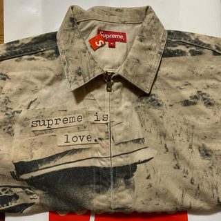 Supreme - Supreme Is Love Denim Work Jacket Mサイズ