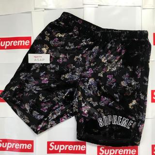 Supreme - 【即発送/S】Supreme Floral Velour Short