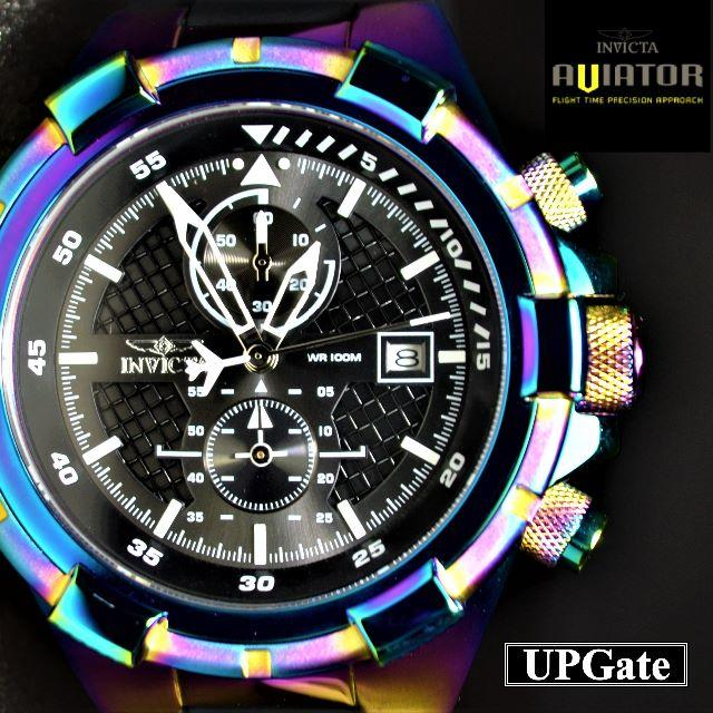 INVICTA - ◆人気レインボーカラー! INVICTA Aviator 28104の通販 by ~UPGate~ ラクマ店|インビクタならラクマ