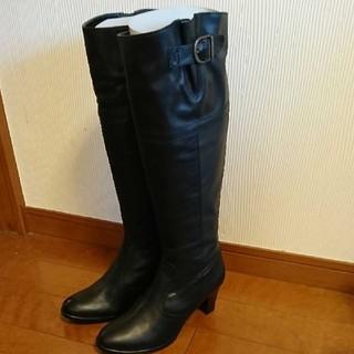 バークレー(BARCLAY)の新品未使用☆バークレー 黒 ロングブーツ 24cm(ブーツ)