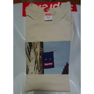 Supreme - supreme banner Tシャツ ナチュラル L
