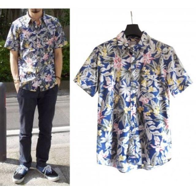 DELUXE(デラックス)のDELUXE UTOPIAN 花柄 半袖 アロハシャツ  メンズのトップス(シャツ)の商品写真