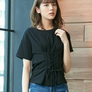 INGNI - 【新品】INGNI コルセットレースUP Tシャツ132759