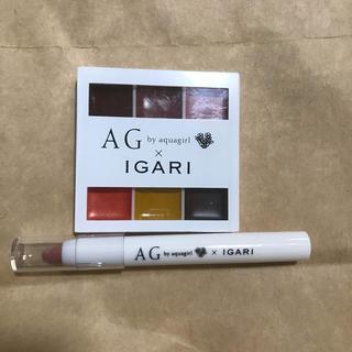 アクアガールコスメティクス(aquagirl cosmetics)のリップパレット&アイシャドウ(コフレ/メイクアップセット)