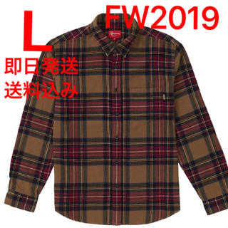 Supreme - L supreme Tartan Flannel Shirt シャツ ②