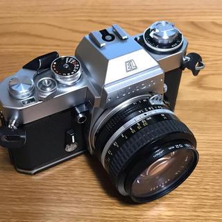 ニコン(Nikon)の【レア】Nikon EL2 + Ai Nikkor 50mm F1.4 訳有(フィルムカメラ)