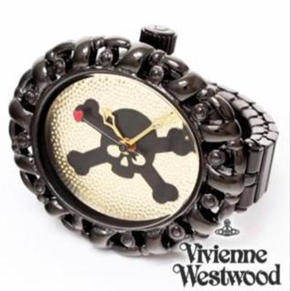 ヴィヴィアンウエストウッド(Vivienne Westwood)のお値下げ中!新品 レア ヴィヴィアン  スカルマーク リング ウォッチ(リング(指輪))