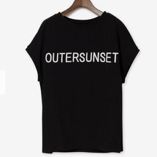 PLST - 【PLST】別注OUTERSUNSET Tシャツ