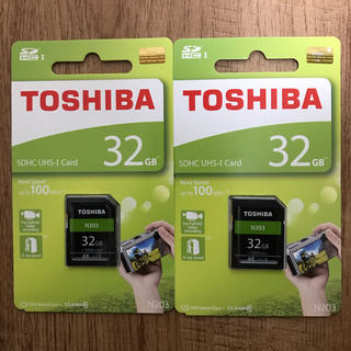 東芝 - SDカード 32GB 東芝TOSHIBA【2枚セット】