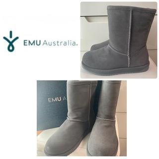 エミュー(EMU)のemu  パターンソンロー チャコール(ブーツ)