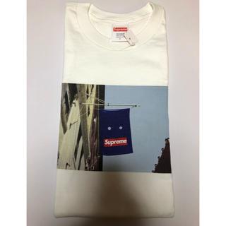 シュプリーム(Supreme)のSupreme banner Tee 白 L white(Tシャツ/カットソー(半袖/袖なし))