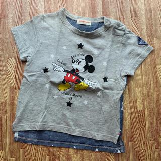 Disney - 37、ミッキー 半袖 Tシャツ 90