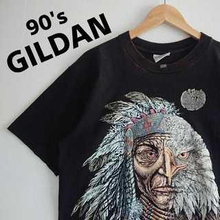 634 GILDAN 1994年製 プリント Tシャツ(Tシャツ/カットソー(半袖/袖なし))