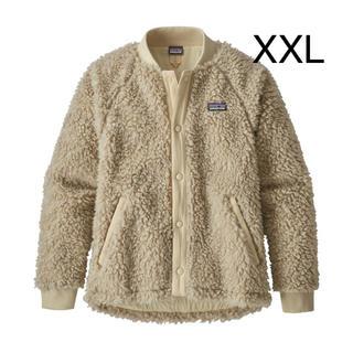 パタゴニア(patagonia)のパタゴニア ガールズ レトロX ボマー ジャケット XXL 新品 ナチュラル(ブルゾン)