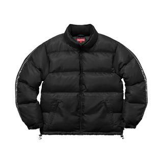 シュプリーム(Supreme)のReflective Sleeve Logo Puffy Jacket L(ダウンジャケット)