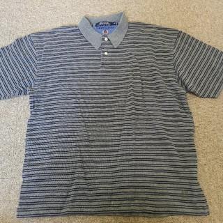 トミーヒルフィガー(TOMMY HILFIGER)のトミーヒルフィガー   半袖  ポロシャツ  Lサイズ(ポロシャツ)