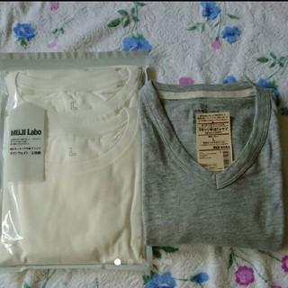 ムジルシリョウヒン(MUJI (無印良品))のTシャツセット 無印良品(Tシャツ/カットソー(半袖/袖なし))