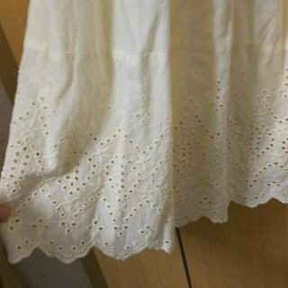 SM2 - SM2  裾スカラップスカート  キナリ