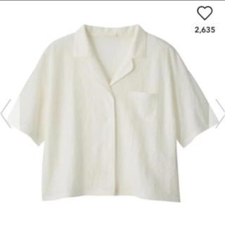ジーユー(GU)のgu オープンカラーシャツ (5分袖)(シャツ/ブラウス(半袖/袖なし))