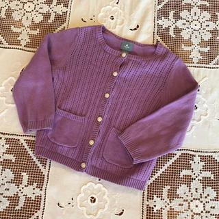 babyGAP - baby GAPベビーギャップ♡パープル紫色カーディガン90♡80,95,100