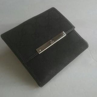 グッチ(Gucci)のGUCCI・GG柄二つ降り財布(財布)