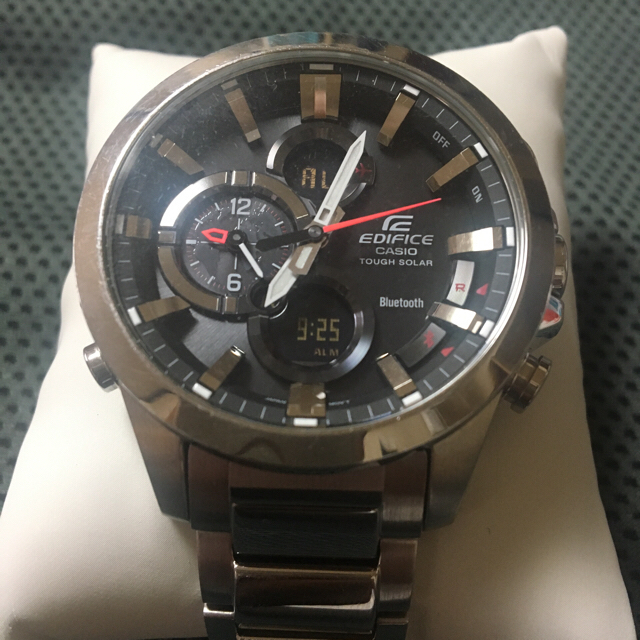 エルメス バッグ 一番安い 、 CASIO - 腕時計CASIOエディフェス タフソーラー スマートフォンリンク大幅値下げの通販 by メリー|カシオならラクマ