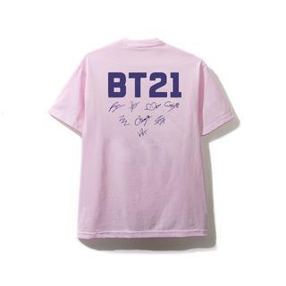 ボウダンショウネンダン(防弾少年団(BTS))のBT21 × Anti Social Social Club ロゴ Tシャツ S(Tシャツ/カットソー(半袖/袖なし))