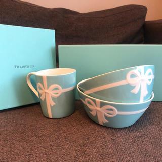 Tiffany & Co. - お取り置きティファニーのボウルとマグカップのセット